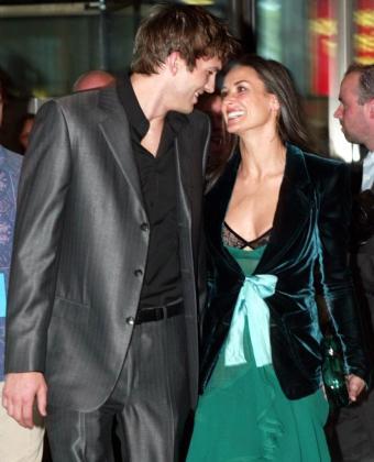 Imagen de la pareja en los primeros momentos de su relación.