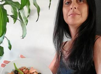 Lentejas trempades con toque marino de Carmen Ruiz