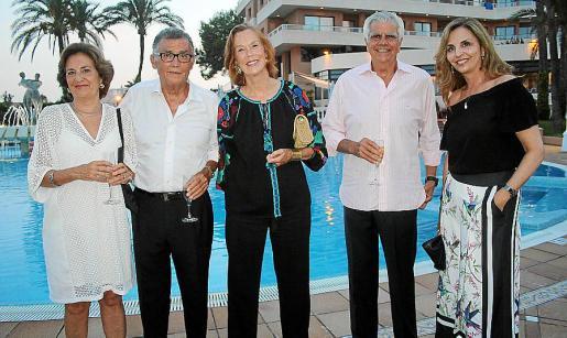 Marta Fuch, Javier Cortés, Alicia Gómez-Trenor, Ignacio Muñoz y Carmen Morillo.
