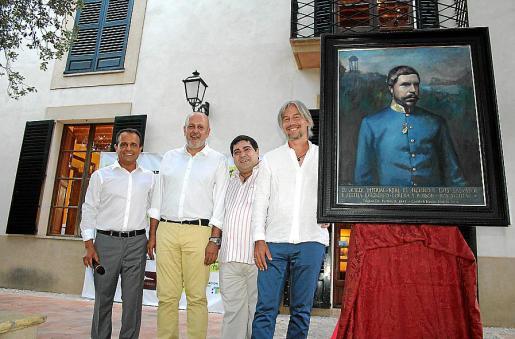 Diego Tocino, Miquel Ensenyat, José Luis Mesas y José María Fayos.