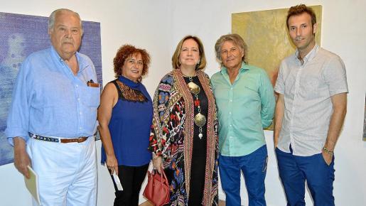 Santiago Ybarra, Jero Martínez, Mercedes Abra, Amador y Toni Ferrer