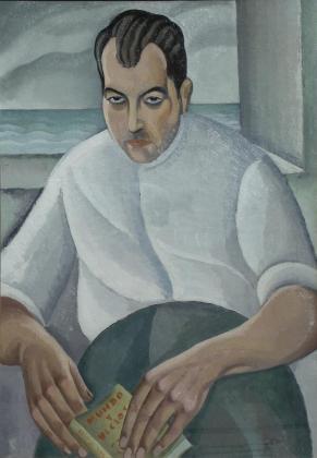'Mundos y vicios', la obra de juli Ramis que adquirió el galerista Miquel Alzueta.
