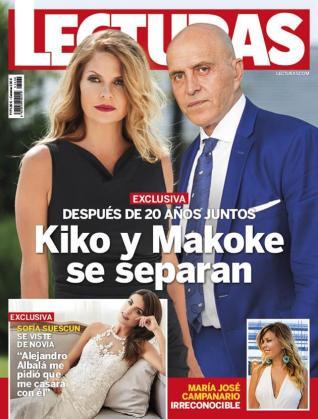 Imagen de la porta de la revista Lecturas.