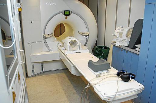 Uno de los aparatos de resonancia magnética.