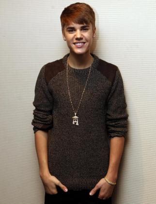"""El cantante canadiense Justin Bieber, durante la presentación de su disco navideño """"Under the Mistletoe""""."""