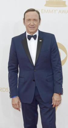 El actor Kevin Spacey en la gala de entrega de los premios Emmy Awards.