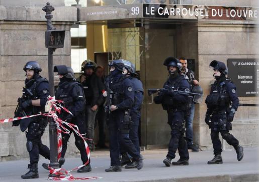 Imagen del cuerpo de Policía de París.