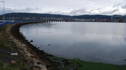 Imagen de archivo del puente de As Pías en Ferrol.