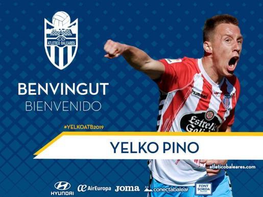 El Atlético Baleares anuncia el fichaje de Yelko Pino
