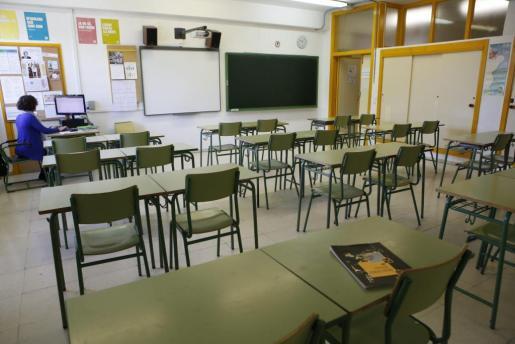 Imagen genérica de un aula.