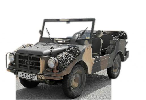 Juan Pujadas es el propietario de este DKW Munga de 1967 que adquirió en Holanda en 2013