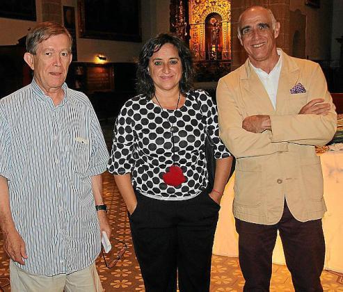 Biel Barceló, Kika Coll y Miquel Rotger.
