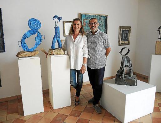 Miquela Vidal y Rafel Creus, en la presentación el día anterior.