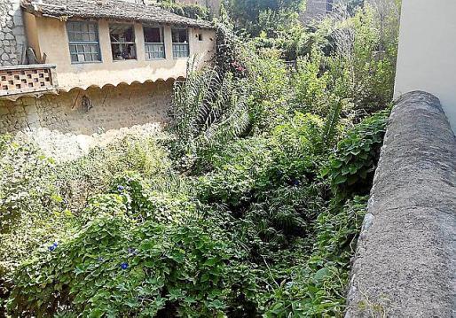 El Ayuntamiento de Sóller pide la limpieza manual en los tramos urbanos con vegetación.