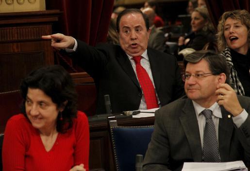 José María Rodríguez, en un momento del pleno de ayer