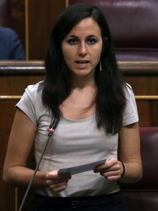 Ione Belarra, portavoz adjunta de Unidos Podemos en el Congreso.
