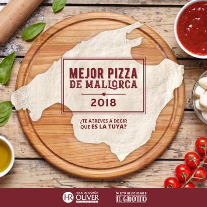 """El II Concurso de """"La mejor pizza de Mallorca"""" 2018 se pone en marcha."""