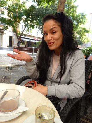 Julia Valverde, gitana y cantaora flamenca, estuvo en la edición número 12 de 'Gran Hermano'.