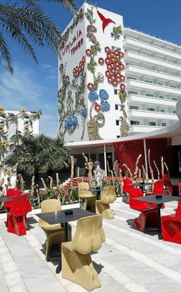 El Ushuaïa Ibiza Beach Hotel ofrece un concepto innovador.