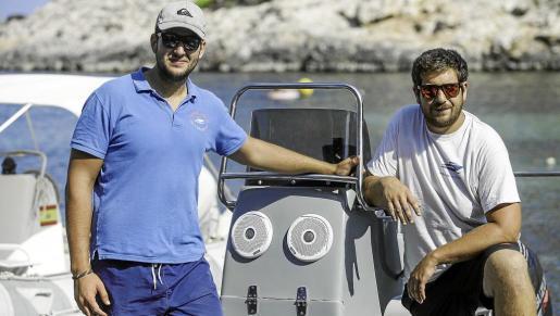 Carlos y Juanjo Marí pusieron en marcha Portinatx charter en el año 2012.