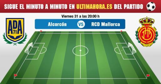 Alcorcón-Real Mallorca, en directo