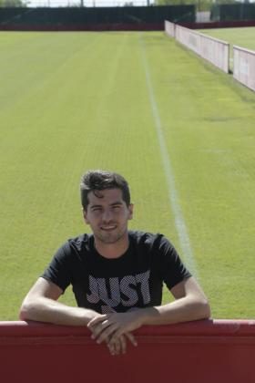 Javier Bonilla en una imagen captada en Son Bibiloni.