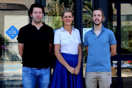 Antoni Jaume, Esperança Amengual y Gabriel Moyà, responsables del proyecto.