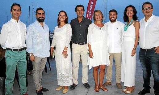 Guillermo Sánchez, Jesús Jurado, Margalida Prohens, Gabriel Company, Margalida Durán, Xavi Bonet, Lourdes Bosch y Luis Matarín.