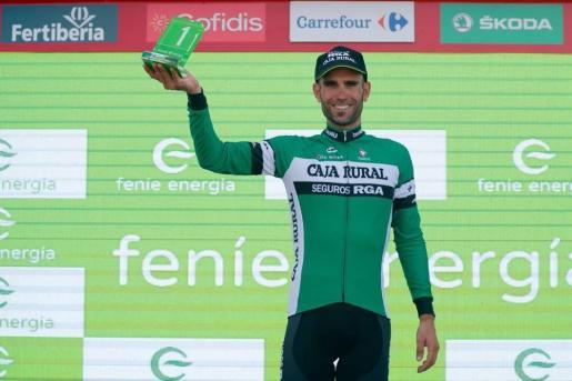 Lluís Mas logró el Premio a la Combatividad tras la etapa del pasado domingo en La Covatilla.