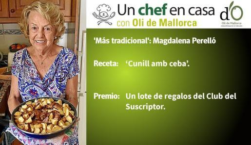 Magdalena Perelló ha sido la finalista por la receta 'Más tradicional'.