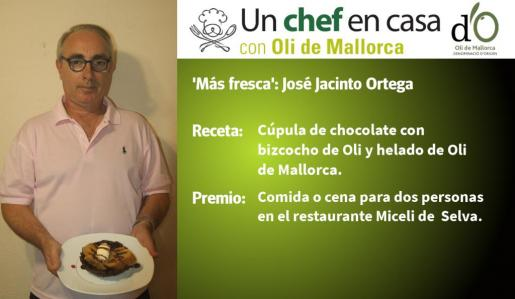 José Jacinto Ortega ha sido finalista a la receta 'Más fresca'.