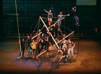 El Circ Bover lleva su espectáculo 'Combinat de circ' a La Misericòrdia