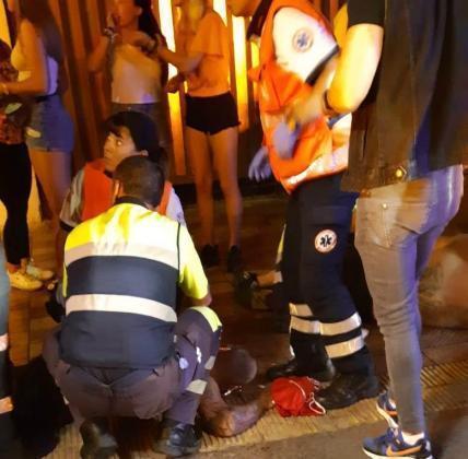 El hombre que apuñaló a los dos turistas alemanes regresó ilegalmente.