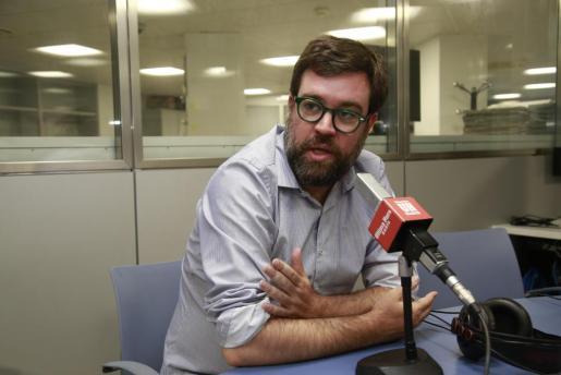Antoni Noguera, en una reciente entrevista con Ultima Hora Esports.