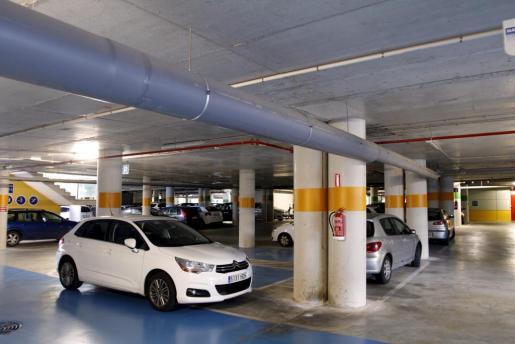 Imagen de archivo del aparcamiento de Son Espases.