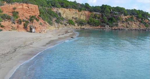 Playa de Cala Llenya.