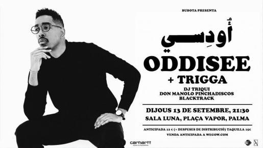 El rap de Oddisee suena por primera vez en Mallorca.
