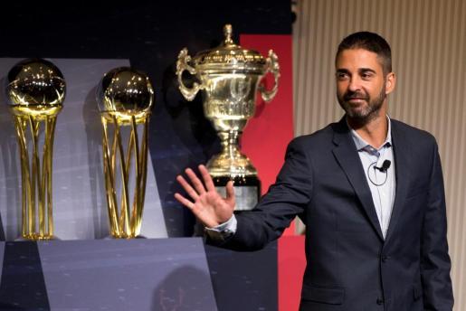 Juan Carlos Navarro explicó su despedida como jugador en activo en rueda de prensa.