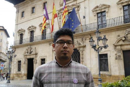 El concejal de Juventud, Igualdad y Derechos Cívicos del Ayuntamiento de Palma, Aligi Molina.