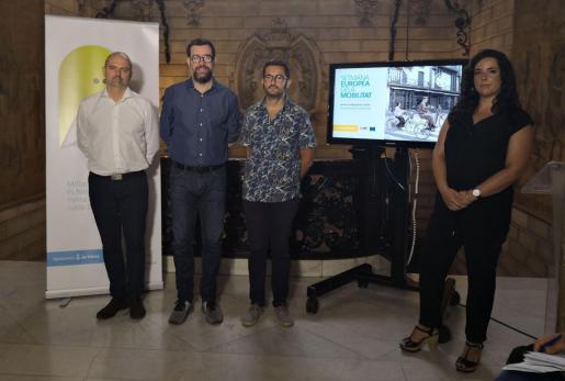 Momento de la presentación de las actividades de la Semana Europea de la Movilidad.