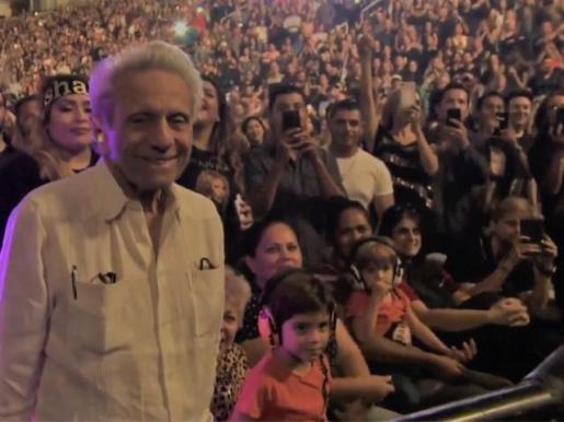 Shakira protege a sus hijos del ruido de sus conciertos.