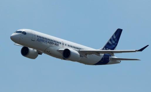 Imagen de un avión.