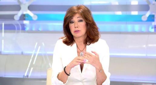 La veterana presentadora se ha pronunciado por primera vez sobre el arresto de su esposo Juan Muñoz.