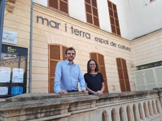 Llorenç Carrió y Marta Ferré.