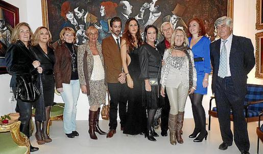 Asunción Ramia, Rosa Sánchez, Rosa Estarás, Celia Velasco, Carlos Prieto, Carmen Llompart, María Crespo, Joan Sempere, Dora Luisa Alabert, Josefina Oliveras y Pedro Prieto.