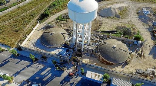 El Ajuntament de Manacor ha realizado una importante inversión en el depósito de el Serralt para mejorar el subministro.