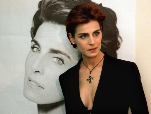 Imagen de la modelo italiana Antonia Dell'Atte.
