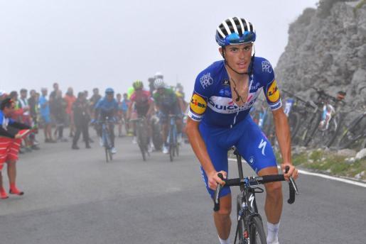 Imagen del ciclista de Artà, Enric Mas