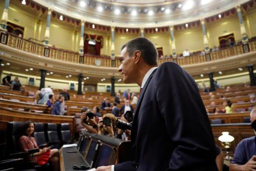 El presidente del Ejecutivo, Pedro Sánchez.