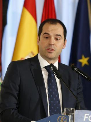El portavoz del grupo parlamentario de Ciudadanos en la Asamblea de Madrid, Ignacio Aguado.